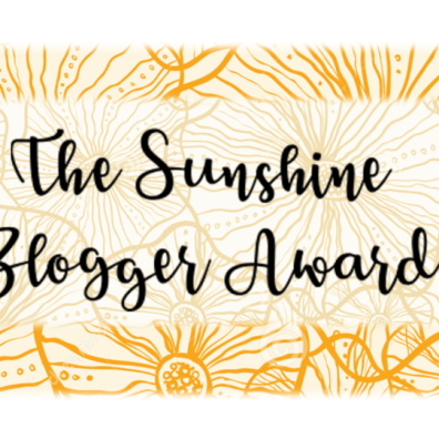 sunshine blogger award